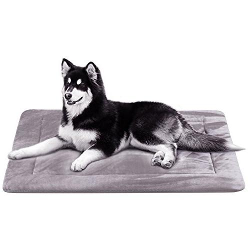 dog bed crate pad mat