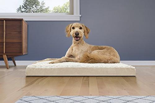   Ultra Plush Pet Bed Dogs Cats, Large