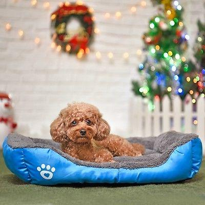 Dog Bed Dogs Soft Waterproof Kennel