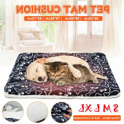 Large Pet Dog Cat Bed Puppy Cushion House Pet Soft Warm Kenn