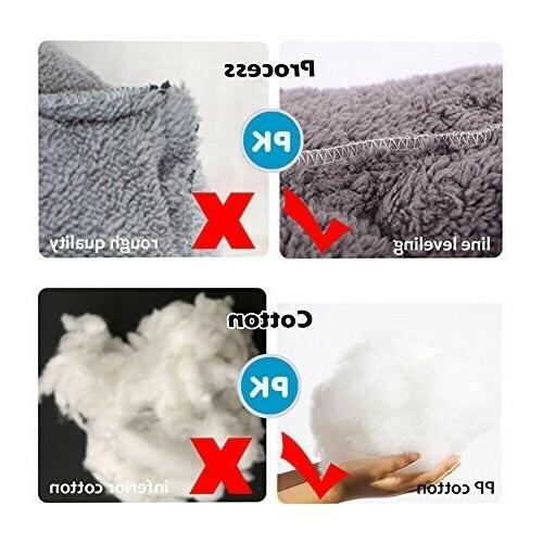 Dog Bed Mattress Washable Pads Room Square Mat US