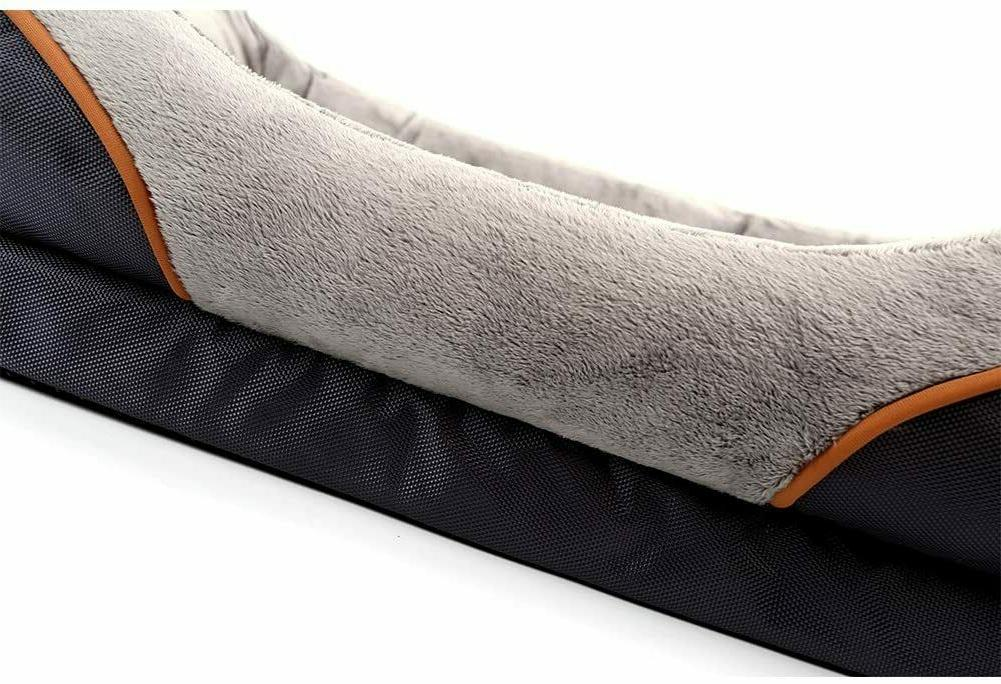 Dog Bed Foam Pet with Washable and Toy