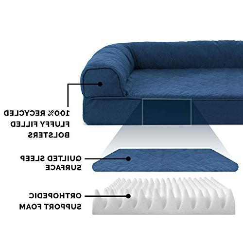 FurHaven Dog   Quilted Sofa-Style Couch Pet for Dogs & Jumbo
