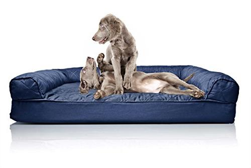 dog bed orthopedic quilted sofa