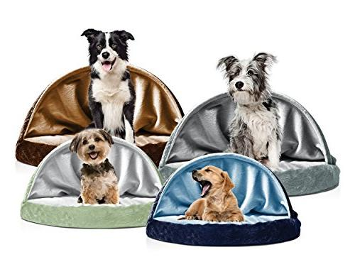 FurHaven Dog   Snuggery Burrow for Gray, 26-inch