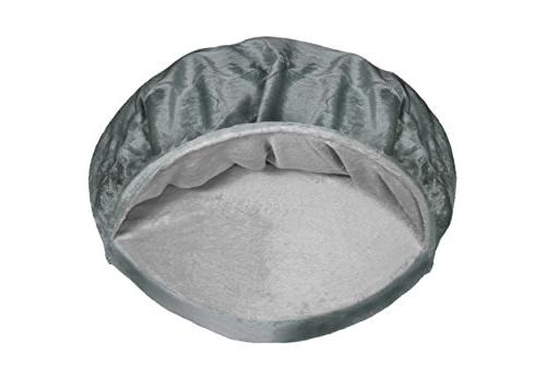 FurHaven   Orthopedic Round Snuggery Burrow for Dogs Cats,