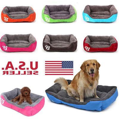 dog bed pet kennel house warm cushion