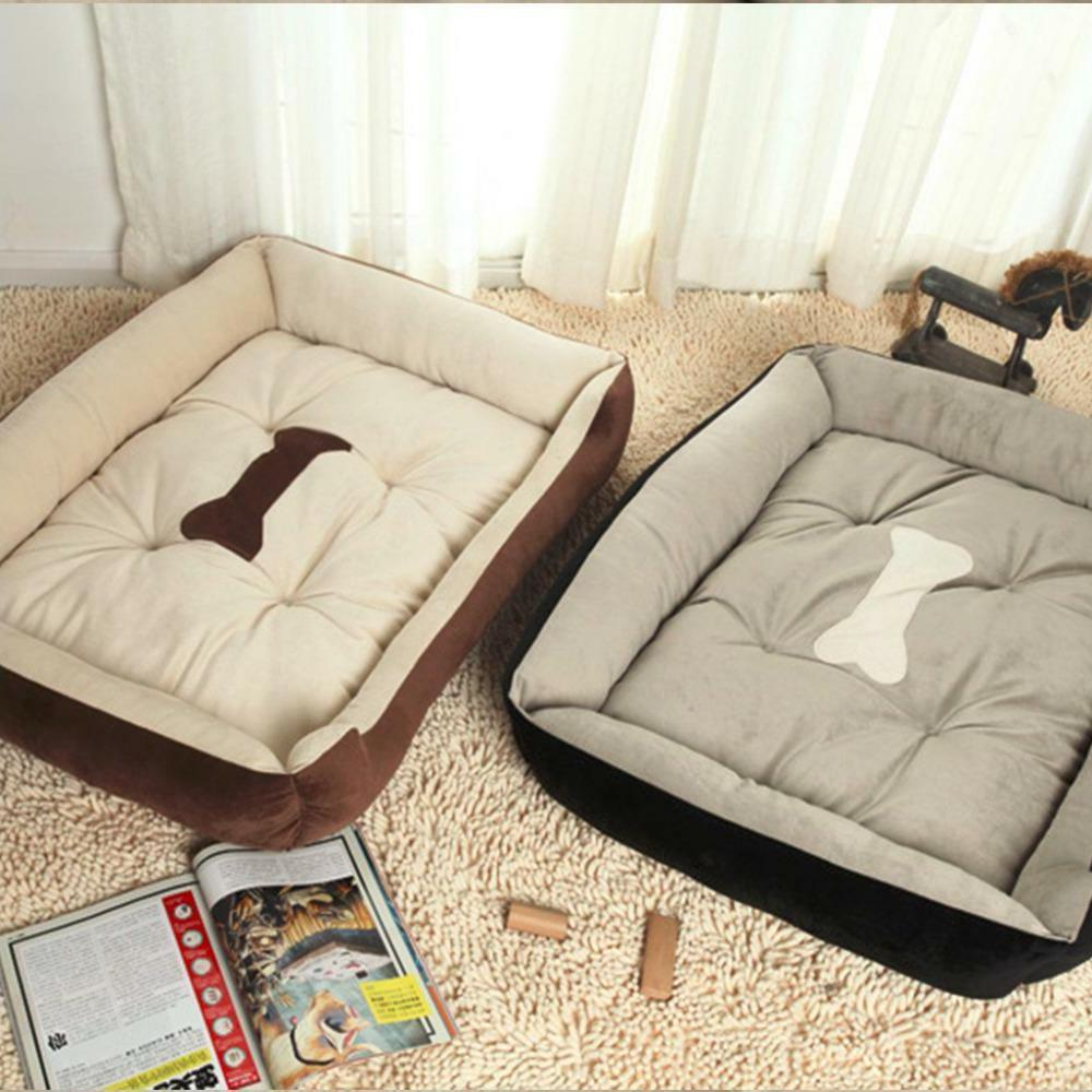 Dog Bed Pet Lounger XXL Warm Soft Puppy Sofa Indoor Extra La
