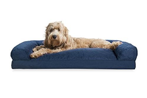 dog bed quilted pillow sofa