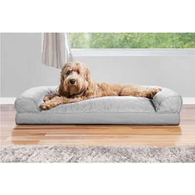 FurHaven | Pillow Sofa-Style Couch Pet Bed Dogs Cats,