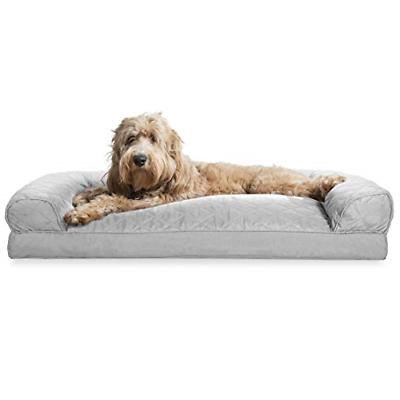 dog bed quilted pillow sofa style couch