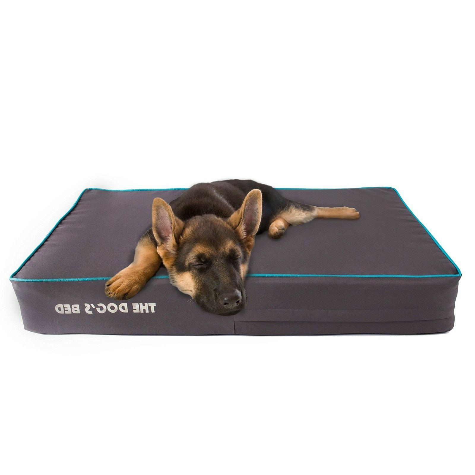 The Dog's Bed, Premium Plush Orthopedic Waterproof Memory