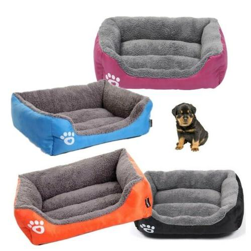 Pet Bed Cat Cushion Puppy Kennel Mat Washable