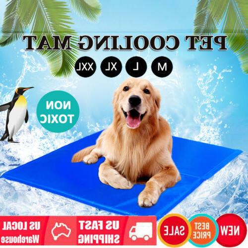 dog cooling mat pet cat chilly non
