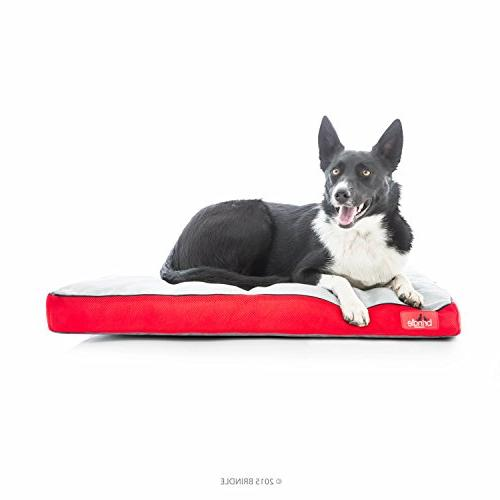 Dog pet Bed Soft Memory Foam with Removable Washable Cover -