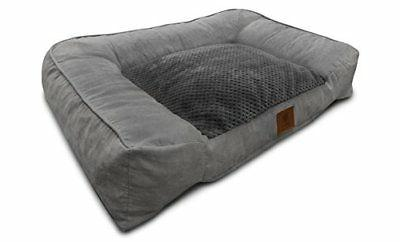 Dog Bed Ultra Plush With Memory Foam And Orthopedic Durable