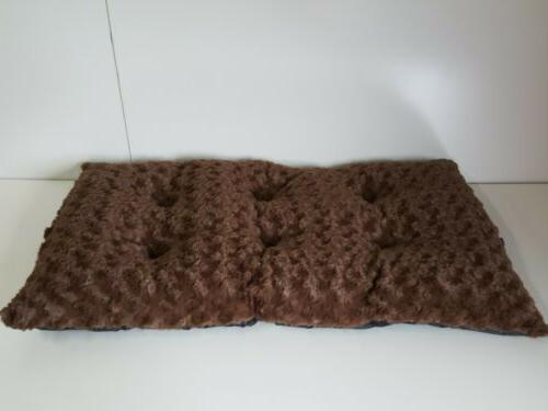 Petmaker Soft Cushion Pillow Bed Large Brown