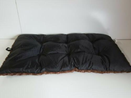 Petmaker Pet Soft Cushion Large Fur Brown