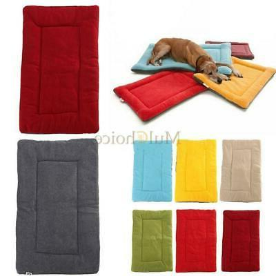 dog pet crate kennel warm bed mat