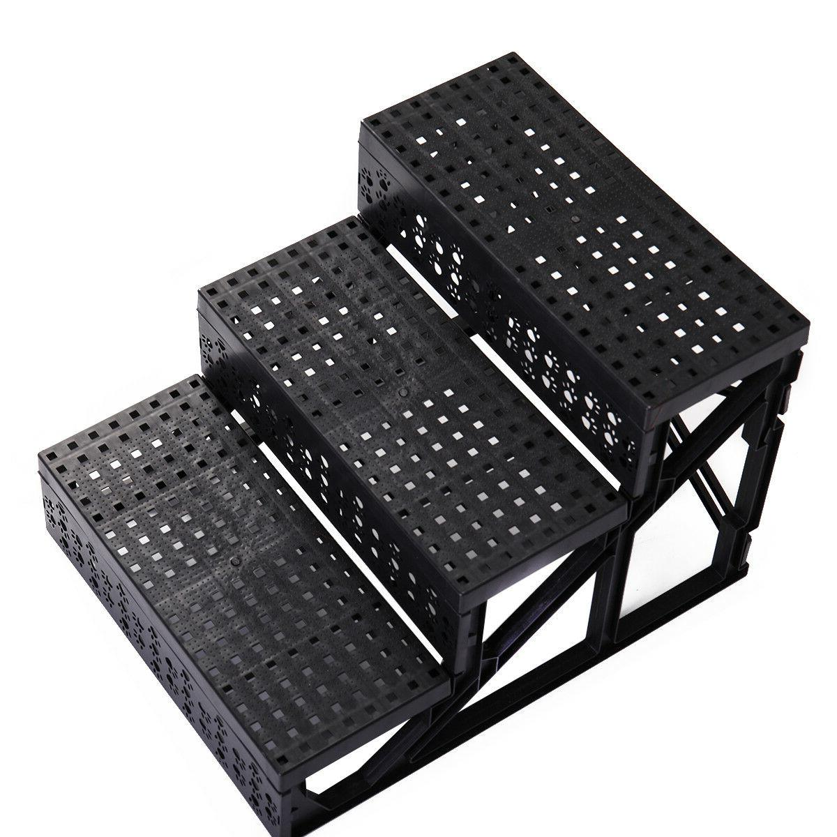Dog Ladder High 3 with cover Dogs