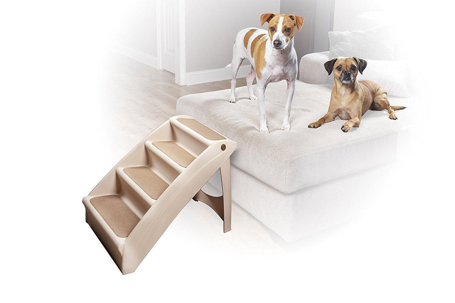 Dog Stairs Portable Great for Dogs Bed Car..