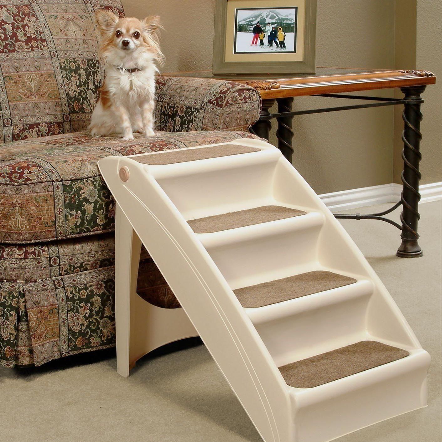 Dog Steps Folding Dogs Stairs Bed Car..