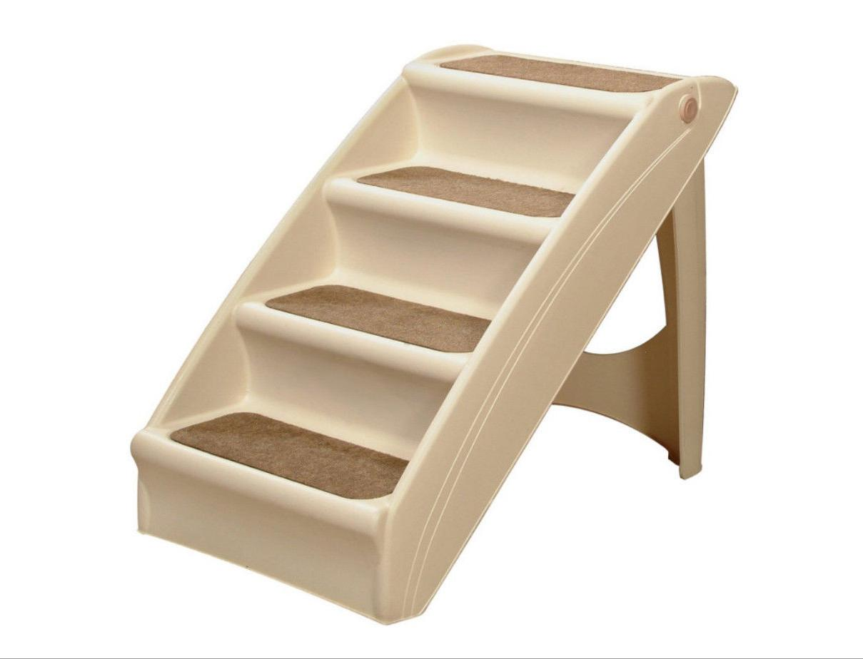 dog steps folding pet stairs portable great
