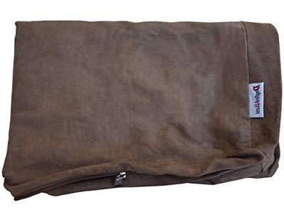 Dogbed4less Memory Foam Orthopedic Comfort, and Brown Bed 37X27