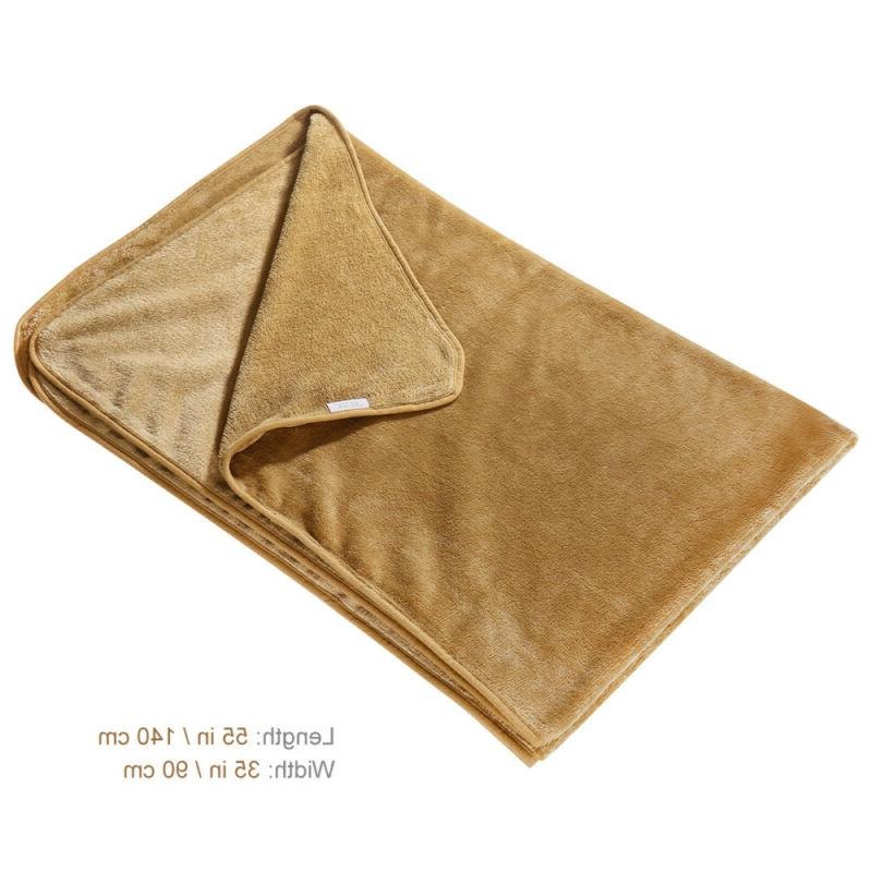 Luxury for Dog Blanket Cover Pet Sleeping Fabric Kitten Bed
