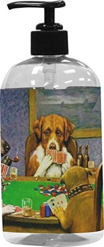 RNK Shops Dogs Playing Poker by C.M.Coolidge Plastic Soap/Lo