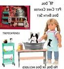 """18"""" Doll GROOMING SALON Set Dog Groomer for Our Generation A"""