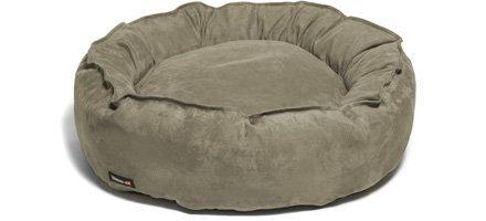 domestic pet beds stone suede
