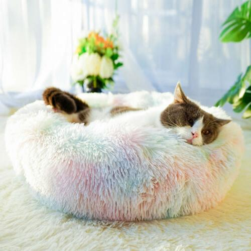 Donut Cat Puppy Sleeping Mat Round Soft