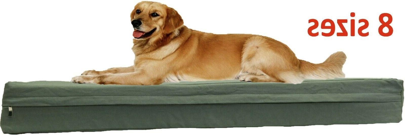 Durable Canvas zipper cover + waterproof liner for dog bed p