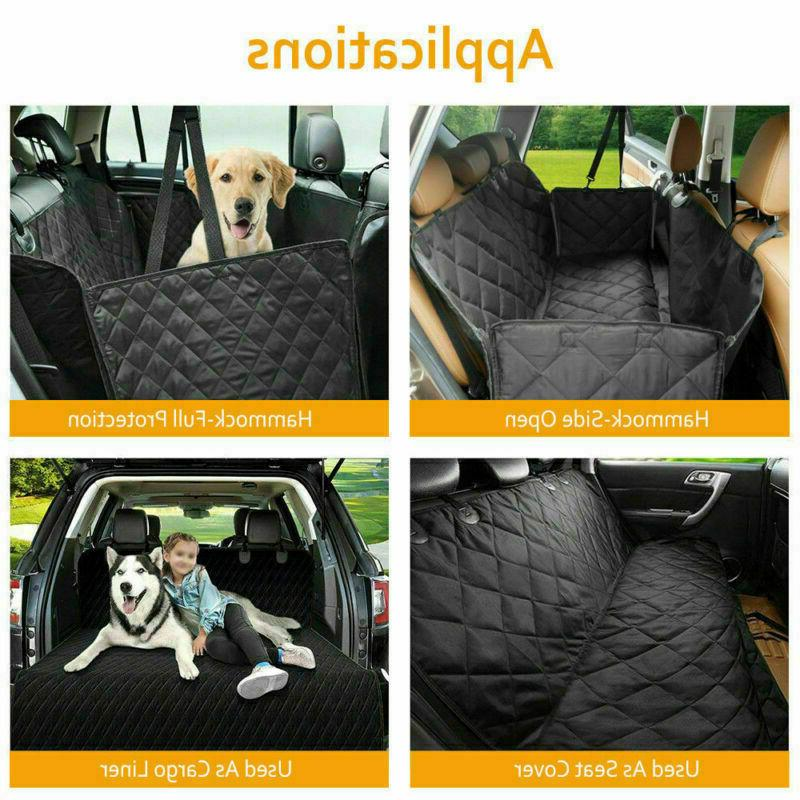 Durable Dog Car Cover SUV Door Back Rear Bench Hammock for Baby