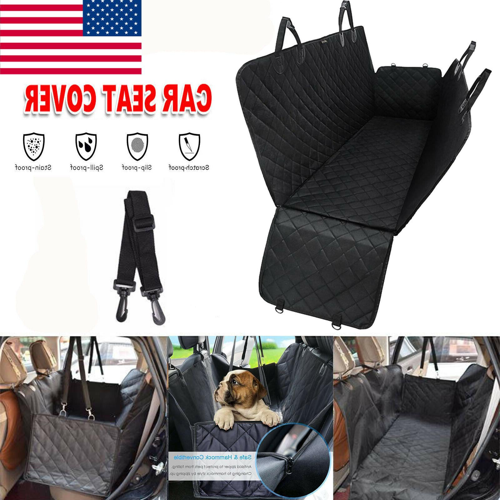 durable dog car seat cover suv door