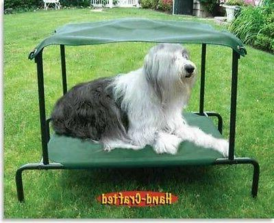 elevated breezy bed dog l