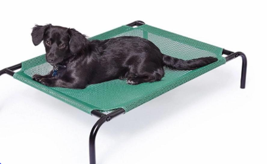 AmazonBasics Elevated Cooling Bed Replacement FRAME Green