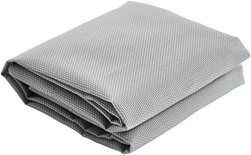 AmazonBasics Cooling Pet Bed Cover, XL, Grey