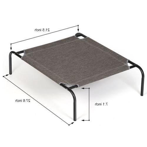Elevated Dog Bed Sleep Cat Raised Cot Outdoor