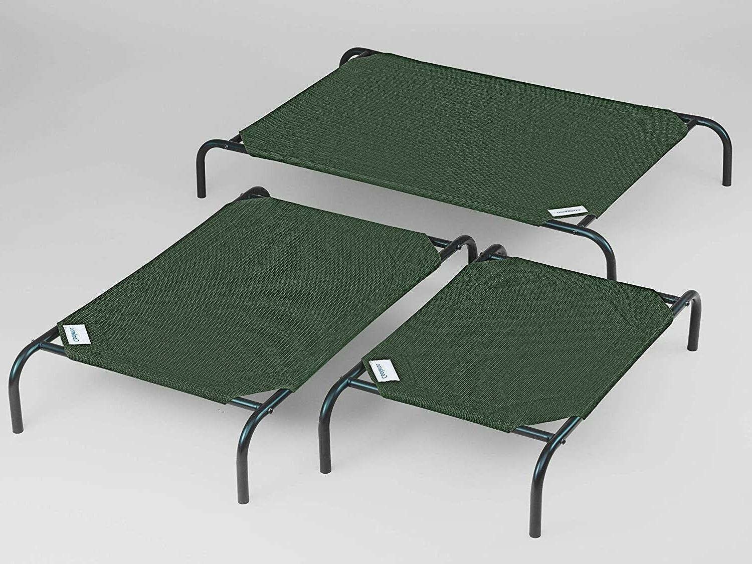 Elevated Dog Bed Cover Cot Elevated Pet Bed...