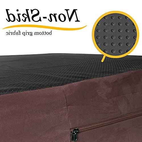 JUMBO XL Size Foam - HeadRest Collection INCLUDES Removable, to Suede Anti