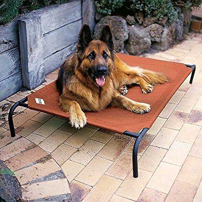 extra large dog bed elevated outdoor raised