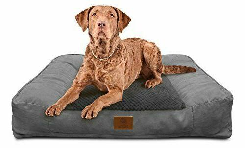 Extra Large Dog Bed XL Pet Sofa With Memory Foam Plush O