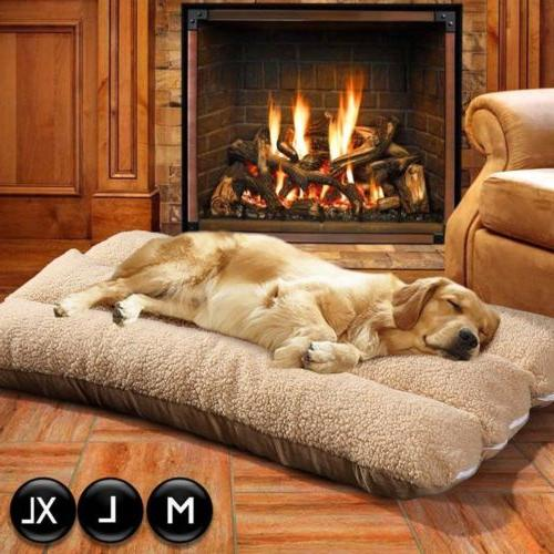 Extra Large Dog Bed Ultra Foam Durable Jumbo Warm Mattres