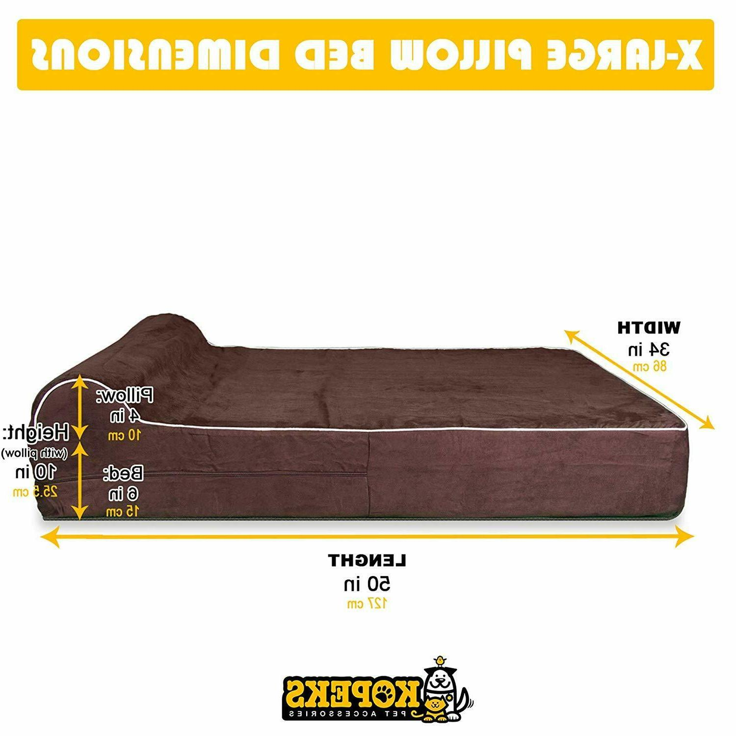 Extra Great Dog Bed Deluxe Big Pet XL Machine