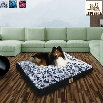 Extra Large Waterproof Pet Bed Mattress Soft Orthopedic Bed