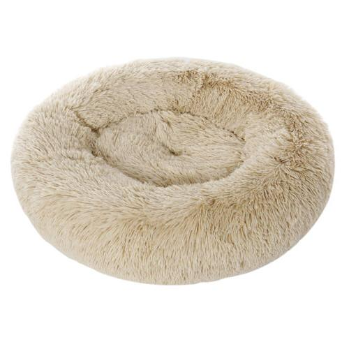 Faux Round Pillow Medium Small Dogs Washable