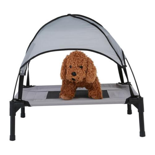 Folding Elevated House Foldable Dog Tent House