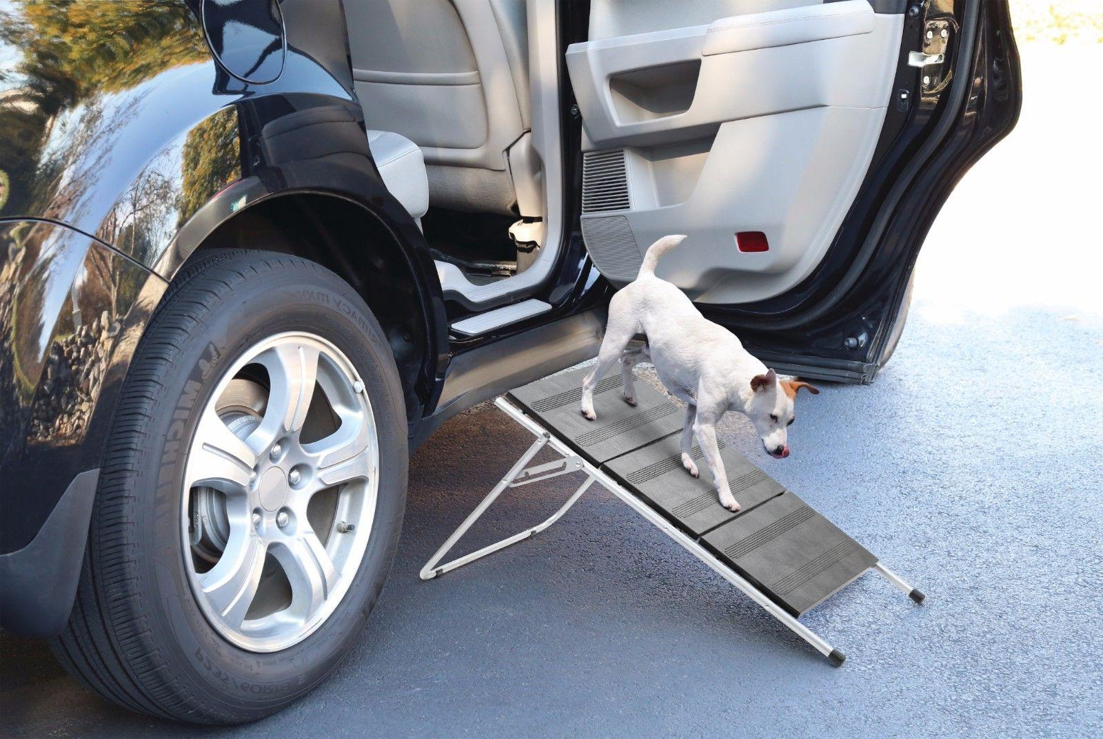 Folding Pet Steps/Ramp Cat Bed Stairs Portable Car